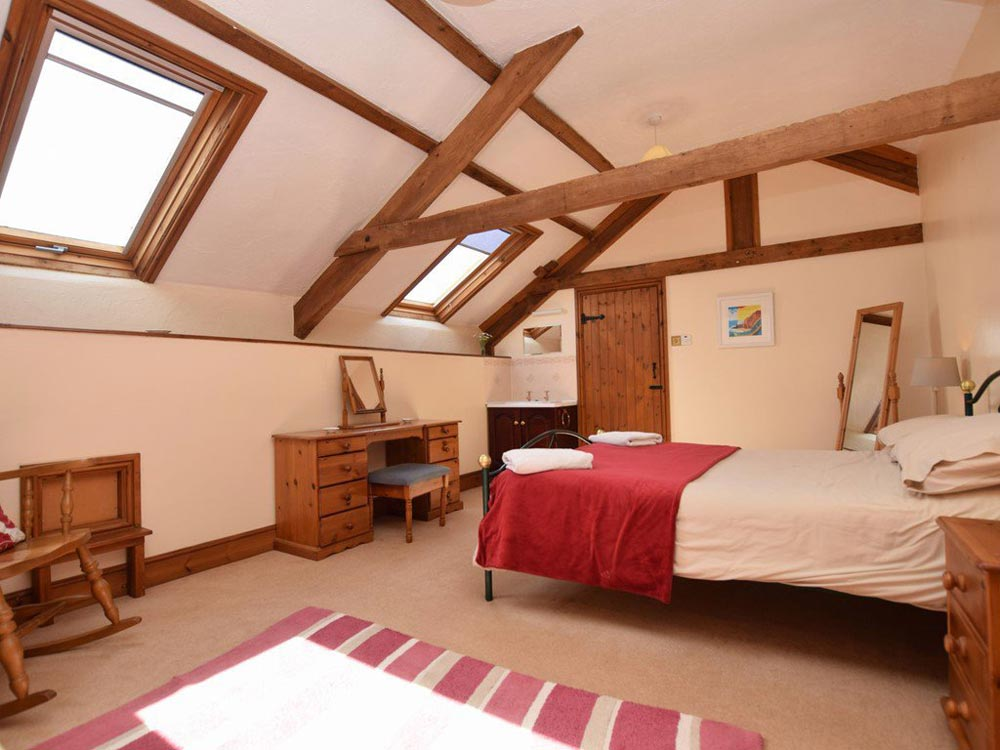Cosy and warm bedrooms